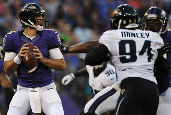 Flacco was impressive against the Jaguars.