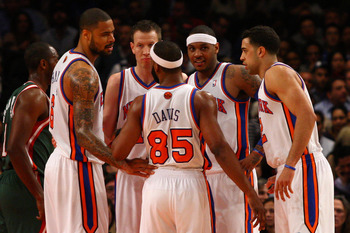 Replace Baron Davis and Landry Fields with a point guard and either J.R. Smith or Iman Shumpert. We're good to go.