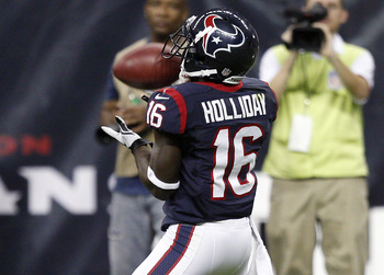 Return Specialist Trindon Holliday