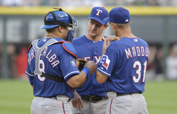 Sometimes the calming effect of the Mike Maddux shoulder rub just isn't enough.