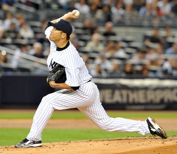 Hiroki Kuroda hopes to get another Win for the Yankees.