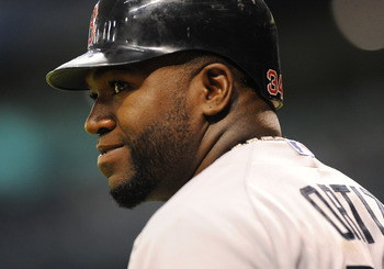 David Ortiz is one of only four Red Sox players who made it to Pesky's funeral.