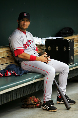 A photo from Nomar's final days in Boston.