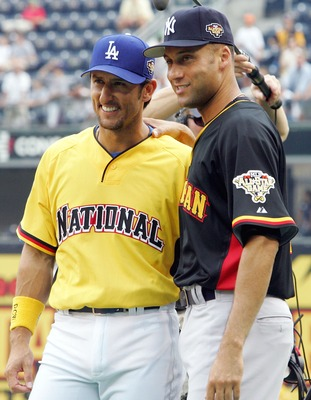 Nomar and Jeter at the 2006 All-Star Game.