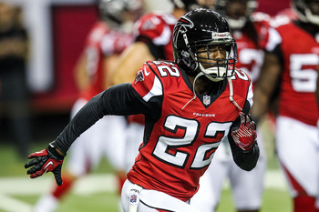 The Falcons are hoping veteran Asante Samuel solidifies their secondary