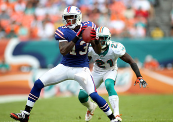 Stevie Johnson is the Bills' top wideout