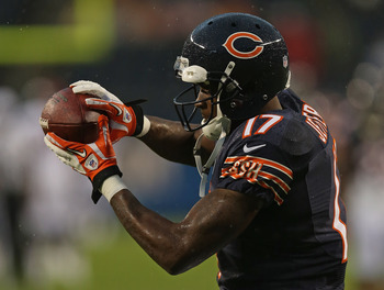 Second-round pick Alshon Jeffery has shown plenty of promise