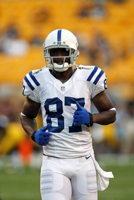 Reggie Wayne is one of the few veteran Colts still with the club