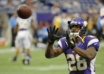 Adrian Peterson will be ready when the Vikings open the regular season