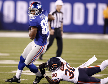 Giants wide receiver Victor Cruz was one of the great stories of the 2011 season