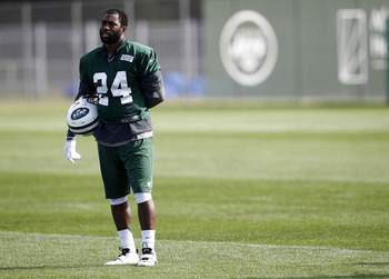 Is Darrelle contemplating the view from &quot;Revis Island?&quot;
