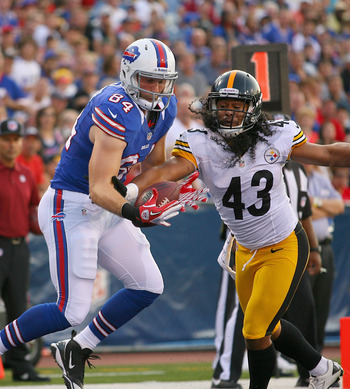 Troy Polamalu's Steelers have allowed the NFL's fewest points the last two seasons