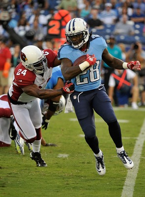 Chris Johnson hopes to rebound from his least productive season
