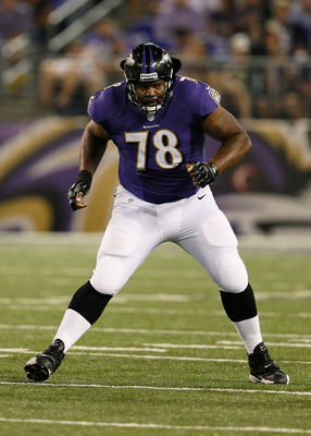 Bryant McKinnie begins his second season with the Ravens