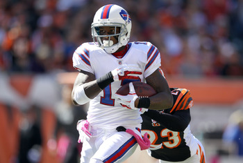 Stevie Johnson led the Bills in receiving in 2011