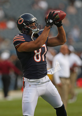 Kellen Davis caught 18 passes in 2011, but five went for touchdowns