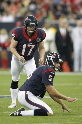 Shayne Graham and Donnie Jones are the new kicking combo