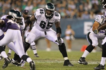 King Dunlap hopes to fill the shoes of injured left tackle Jason Peters