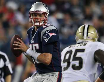 Ryan Mallett has shown progress in year two.