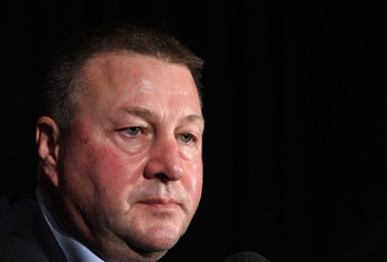 Mike Gillis, the general manager of the Vancouver Canucks.