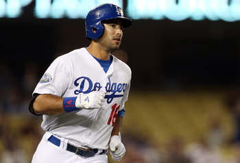 Los Angeles Dodgers right fielder Andre Ethier