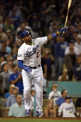 Los Angeles Dodgers CF Matt Kemp