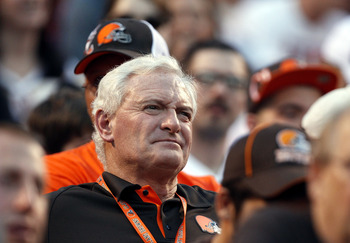 Jimmy Haslem takes in the game with the fans.