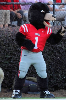 Ole Miss mascot