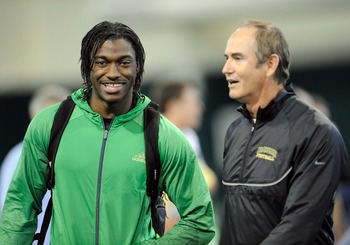 Robert Griffin III and Art Briles