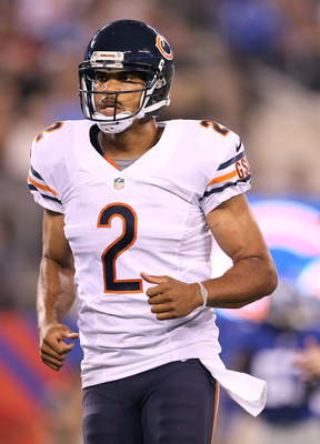 Jason Campbell was the Bears' leading passer on Friday night.