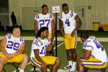 LSU's running backs