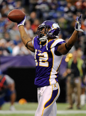 Percy Harvin is a weapon as a runner, receiver and return man.