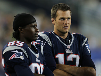 Brandon Lloyd's upgrade at QB should lead to an uptick in production as well.