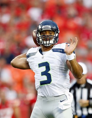 Russell Wilson may not be Cam Newton 2.0, but he's worth a look at the end of your draft.