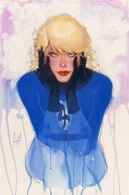 Drawn by Adam Hughes