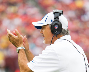 Chuck Pagano has much work to do.