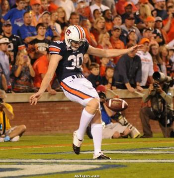 Steven Clark is a game changer at  punter