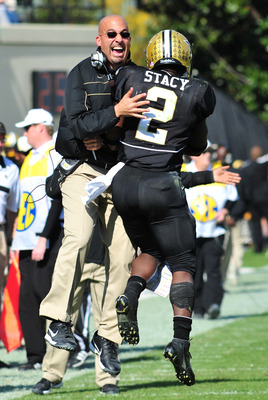 James Franklin and Zac Stacy