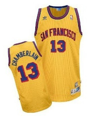 These were the first jerseys for the San Francisco Warriors.