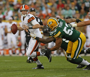 Nick Perry, Packers vs. Browns
