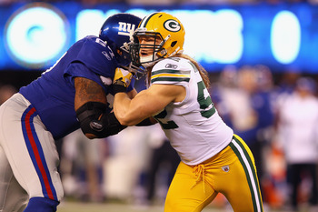 Clay Matthews Packers v. Giants