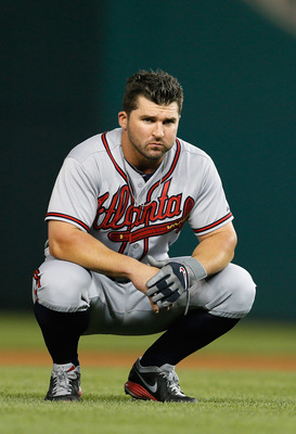 Dan Uggla is hitting just .206 this year.