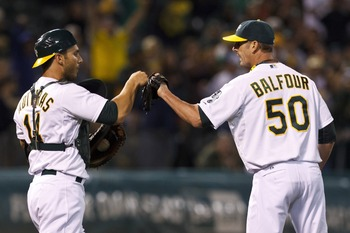 Grant Balfour was one of the hottest commodities; he'll stay a little longer.