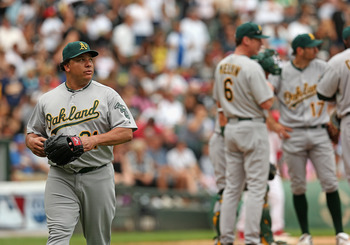 Bartolo Colon will no longer be a part of the A's rotation