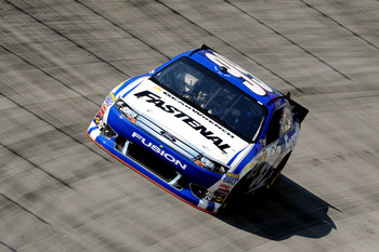 Carl Edwards finished 22nd at Bristol
