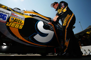 Marcos Ambrose finished fifth at Bristol