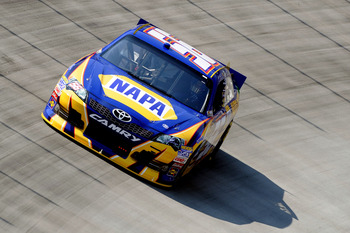 Martin Truex Jr. finished 11th at Bristol