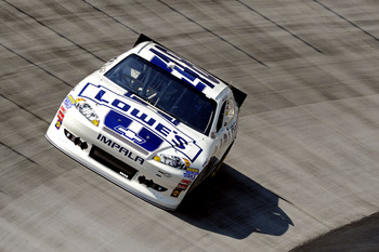 Jimmie Johnson finished second at Bristol