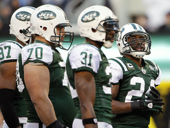 Darrelle Revis solidifies the defensive unit and brings the team together as a whole.