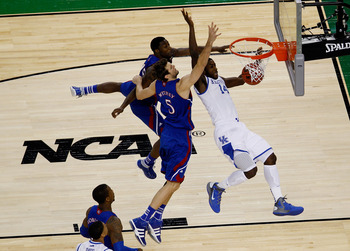 Michael Kidd-Gilchrist finished fifth in field goal attempts on Kentucky
